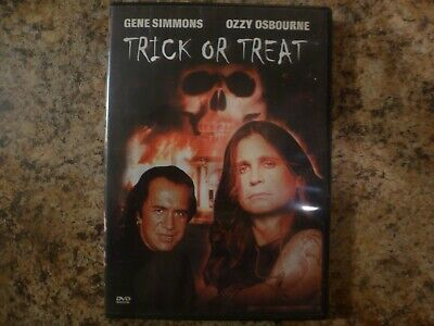Halloween Trick Or Treat Dvd (Trick or Treat (DVD, 2003) Gene Simmons Ozzy Osbourne Halloween Horror Region)