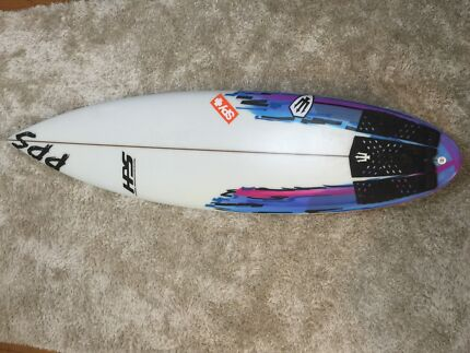 Karl hassel surfboard like new only used a cupel times  Mayfield East Newcastle Area Preview