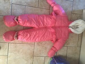 6-12 months snowsuit new