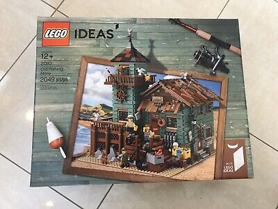 LEGO Ideas Old Fishing Store 21310 Brand New and Sealed Free Shipping