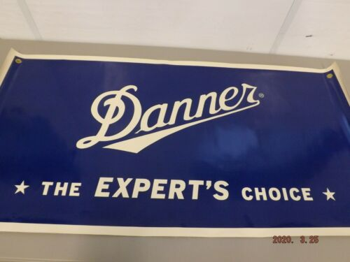 """Danner Boots Canvas Store Ad Banner/ Sign 24""""x 48"""""""