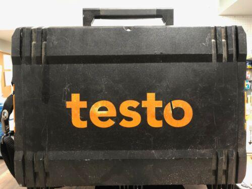 Testo 320 Flue Gas Analyzer Kit With Printer