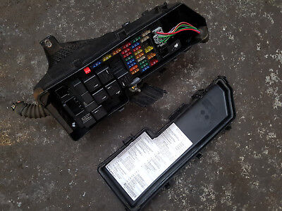 Volvo XC90 2.4 D5 Breaking - ENGINE BAY FUSEBOX AND LID