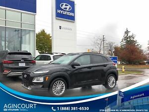 2018 Hyundai Kona LUXURY|AWD|LEATHER|SUNROOF|BLINDSPT|BCAM