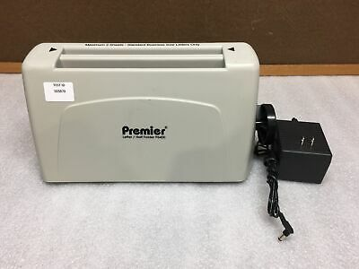 Martin Yale Premier Desktop Letterhalf Folder W Power Adapter Tested Working