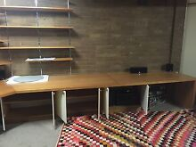 Desk and cupboard combination Kew Boroondara Area Preview