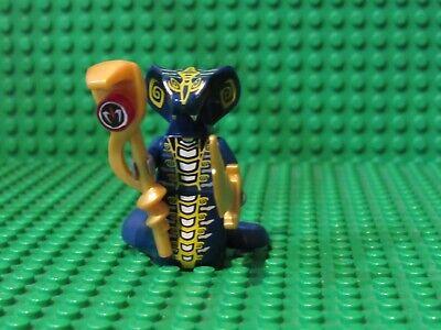 Lego Ninjago Skales Minifig Minifigure Blue Ninja Snake Serpent 9444 9446](Blue Ninja)