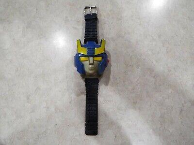 Rare G1 Transformers Smokescreen Flip Top Wrist Watch 1984 Hasbro Durham Works