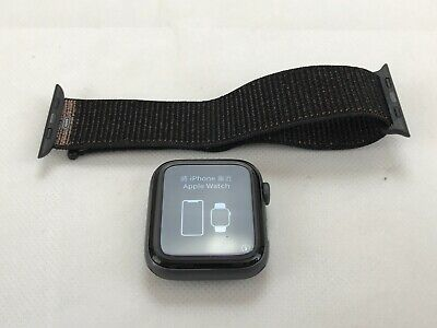 Apple Watch Series 4 A1978, GPS, 44mm Space Gray With Black Nylon Sport Band