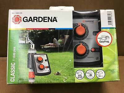 Gardena 1860-28 Classic Plus 3-Cycle Water Timer T 1030 Plus Gardena Water Timers
