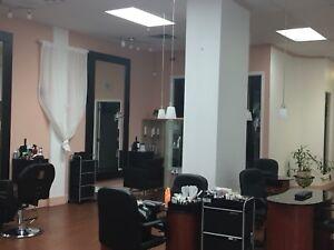 Salon de coiffure/ esthétique à vendre 35 000$