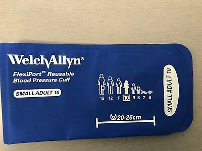 Welch Allyn Reuse-10 Flexiport Blood Pressure Cuff Adult Reusable