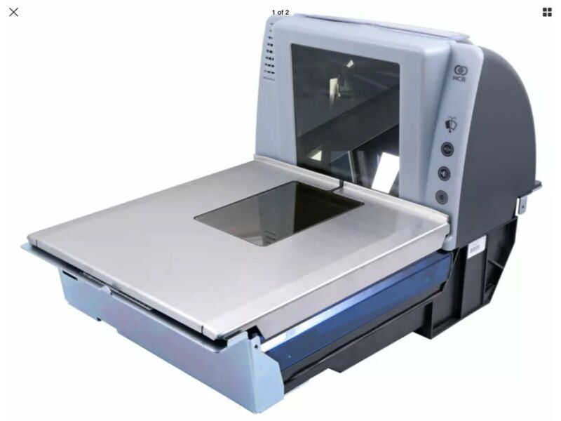 NCR RealScan 7878-20001 Scanner Scale POS