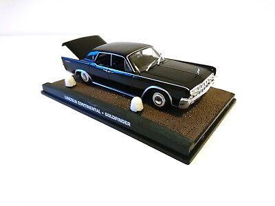 Lincoln Continental Goldfinger JAMES BOND 007 1:43 IXO DIECAST MODEL CAR DY048