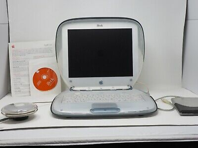 Working Apple iBook Clamshell GRAPHITE M2453 M7716LL/A Floppy Drive Too