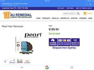 Pearl Hair Removal System Gwelup Stirling Area Preview