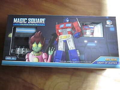 Transformers Magic Square MS-B18 Light of Justice G1 Optimus Prime