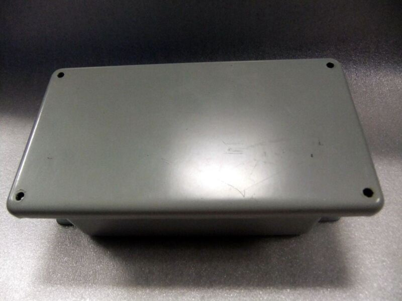 Hoffman Junction Box 8x4x2.75 A843dsc