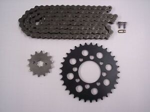 HONDA CMX250 REBEL NEW SPROCKET 14/33 & CHAIN SET/KIT 1985 1986 1987 1988 - 2013