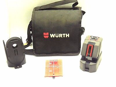 Wurth Pll11 Laser Level 4 Point And Horizontal Vertical