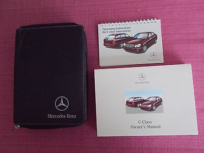 MERCEDES-BENZ C-CLASS SALOON & ESTATE OWNERS MANUAL - HANDBOOK (ACQ 5056)