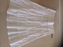 Women's white summer skirt - size 12 Gungahlin Gungahlin Area Preview