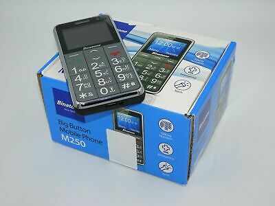 Binatone M250 - Black (Unlocked) Mobile Phone Brand New in Box