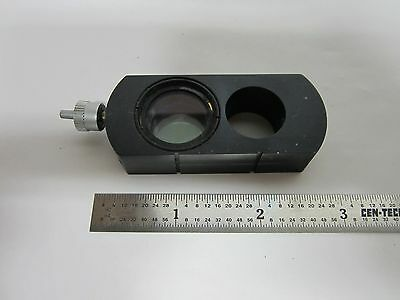 Microscope Polarizer Slide Tilt Leitz Wetzlar Germany Optics Bing5-56