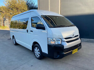 FINANCE FROM $116 PER WEEK* - 2014 TOYOTA HIACE SLWB HIGH ROOF CAR LOAN Hoxton Park Liverpool Area Preview