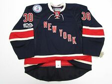 LUNDQVIST NEW YORK RANGERS 100th ANNIVERSARY THIRD REEBOK EDGE 2.0 7287 JERSEY