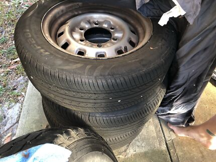 Wheels and tyres for ford Ute Holden