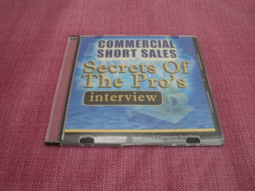 Commercial Real Estate Short Sales CD - Secrets of The Pro
