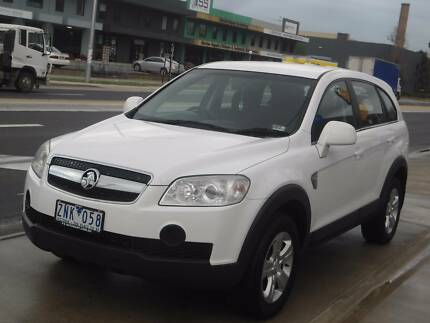 2008 Holden Captiva Wagon