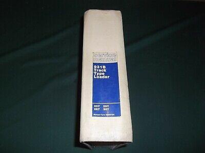 Cat Caterpillar 931b Track Loader Service Shop Repair Manual 25y 26y 29y 30y