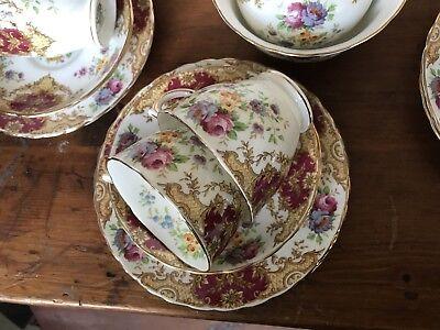 Vintage Tuscan Provence 21 Piece Tea Set