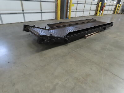 Turbo Systems 34x 14 Cnc Chip Conveyor Steel Non-magnetic Belt .5hp 460v 12fpm