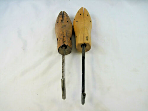 2 Vintage Wooden Shoe Stretchers
