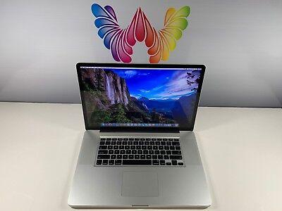 Apple MacBook Pro 17 HIGH END PRE-RETINA 8GB RAM 1TB SSD HYB ~ 3 YEAR WARRANTY