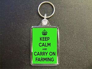 KEEP-CALM-AND-CARRY-ON-FARMING-KEYRING-GIFT-BAG-TAG-BIRTHDAY-GIFT