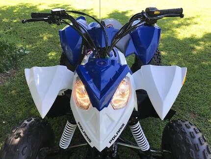 Quality Quad Bikes - Polaris Outlaw 90 & Yamaha Raptor 50