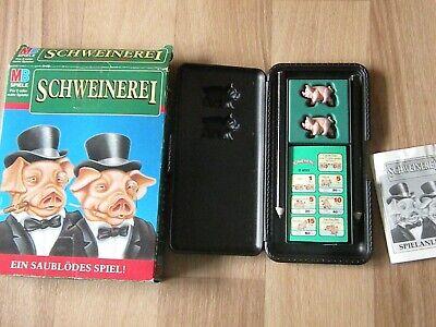 MB Reisespiel / Würfelspiel * Schweinerei * Ein saublödes Spiel * von 1995