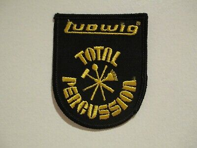 VINTAGE - LUDWIG TOTAL PERCUSSION PATCH - SEW ON PATCH - NOS