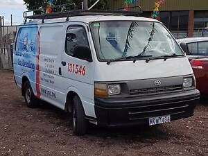 1998 Toyota Hiace Van TURBO DIESEL Reservoir Darebin Area Preview