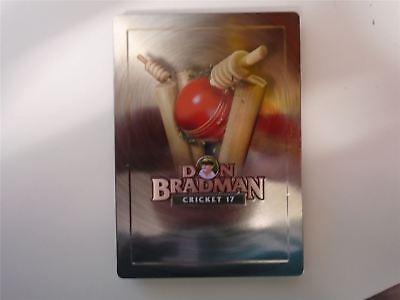 Don Bradman Cricket 17 Steelbook