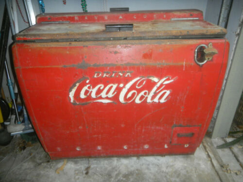 Original Vintage Westinghouse WD-12 Coca Cola Cooler, Excellent Working Cond