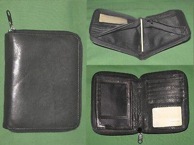 Pocket Card Holder Pda Wilsons Leather Planner Binder Franklin Covey 9264