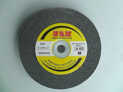 Aluminium Oxide Bench Grinding Wheel 5 X 34 46 Grit Bench Grinder