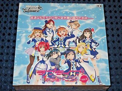 Weiss Schwarz Booster BOX Love Live! Sunshine!! Vol.2 Limited 1st Print ed JAPAN