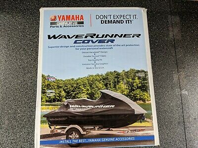 Yamaha WaveRunner Cover (17-18 EX WaveRunner)  Black/Charcoal