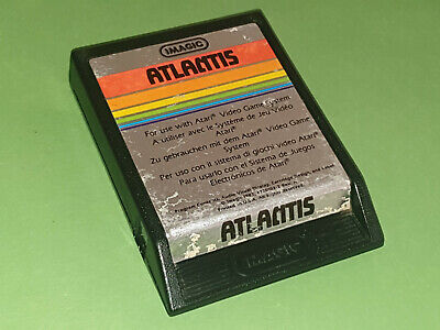 Atlantis Atari 2600 VCS Game Cartridge - Imagic